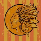 Leader Redskins — Stock Vector
