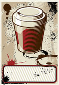 Coffe to go — Vetor de Stock