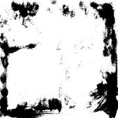 Ručně malované inkoust rám — Stock vektor
