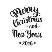 Veselé vánoční nápisy — Stock vektor