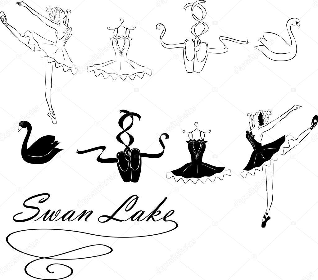Swan Lake Clipart Swan Lake — S...