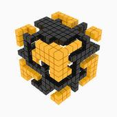 キューブのキューブ — ストック写真