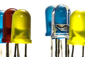 Color LEDs — Stock Photo