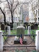 The cemetery of Trinity Church — Stok fotoğraf