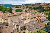 Ovansida av staden Perugia Umbrien Italien — Stockfoto
