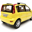 Generic modern yellow family car model — Stock Photo #61784453