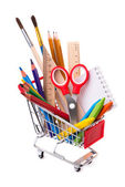 School or office supplies — Stock Photo