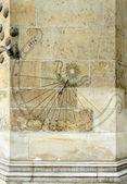 Antiguo reloj de sol — Foto de Stock