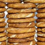 Sesame bagels — Stock Photo #61797175