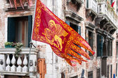 Venice flag — Stock Photo
