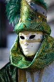 Venetian carnival costume — Zdjęcie stockowe