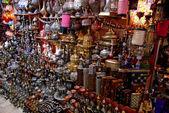 Grand Bazaar showcase — Stock Photo