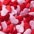 Mix of red and pink hearts — Stock Photo #65031815