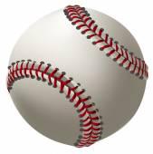 Bola de béisbol — Vector de stock