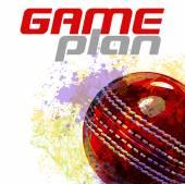 Cricket background — Stock Vector