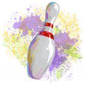 Bowling pins — Vecteur