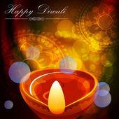 Diwali Celebration card — Stock Vector