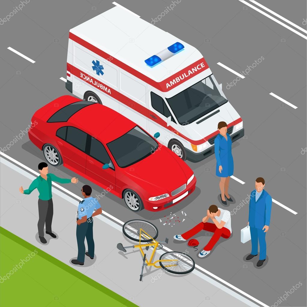 Stock Illustration Car Accident Car Crash Flat on Art Clip Crash Car