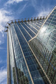 CityPoint skyscraper in the City of London, UK - upward view — Stock Photo