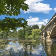 Постер, плакат: Serpentine Lake and Serpentine Bridge in Hyde Park London UK