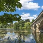 ������, ������: Serpentine Lake and Serpentine Bridge in Hyde Park London UK