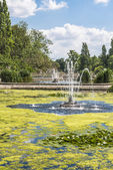 Fontanna w Hyde Park, Londyn, Wielka Brytania — Zdjęcie stockowe