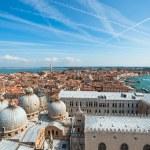 Panoramic aerial view of Venice — Stock Photo #63188365