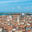 Panoramic aerial view of Venice — Stock Photo #63189231