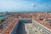 Panoramic aerial view of Venice — Stock Photo