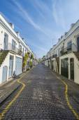 Mews houses in Holland Park area of London UK — Stock Photo