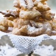 Frappe -  typical Italian carnival fritters — Stock Photo #63688525