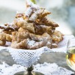Frappe -  typical Italian carnival fritters — Stock Photo #63688755