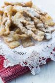 Frappe -  typical Italian carnival fritters — Stockfoto