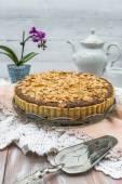 Bakewell tart — Stock Photo