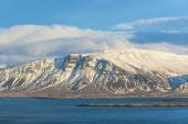 View of the bay in Reykjavik Iceland — Stock Photo
