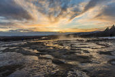 Strokkur Geyser in Iceland — Stock Photo