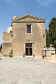Old church in Savoca, Sicily — Stock Photo
