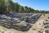 Ancient ruins in Syracuse, Sicily — Stock Photo