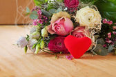 Valentine's Day card. — Stock Photo