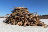 Big pile. — Stock Photo