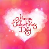 Happy Valentine's Day  card — Stock Vector