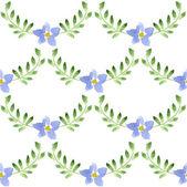 акварельный цветочный узор — Cтоковый вектор
