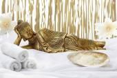 Sleeping Buddha — Stock Photo