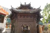 Bronze Pavilion Sik Sik Yuen Wong Tai Sin Temple Religion Great Immortal Wong Prayer Kau CIm Insence — Stock Photo