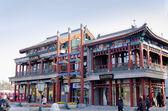 """Zhengyangmen (Qianmen) - """"Gate of the Zenith Sun"""" in Beijing China beautiful portal — Stock Photo"""
