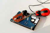Repair of electronics — Stockfoto