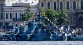 """Anti-sabotage boat """"Nahimova"""" — Stock Photo"""