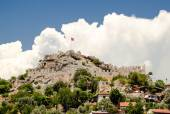 The ancient fortress on top of a mountain. The Turkey. — Stock Photo