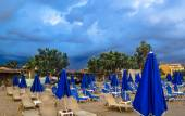 The beach before the storm — Stock Photo