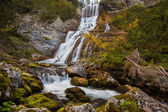 The Fanes waterfall — Stock Photo